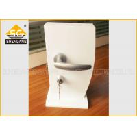 Best Japanese Type Adjsutable Interior / Cupboard Door Silent Door Handle Lock Of Aluminum wholesale