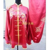 Best red kungfu clothing with dragon for men wholesale