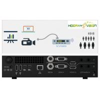 Buy cheap HCV-5800 Network Live Media Portable Recording & Broadcasting PVR HD Device 1/2G processor 256/500G SSD memory product