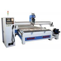 Best Auto Tool Changing4 Axis CNC Router Machine High Stable For Furniture Cabinets wholesale