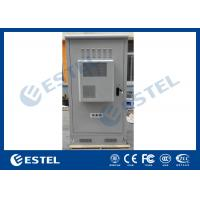 Best Waterproof Outdoor Telecom Cabinets , Outdoor Equipment Cabinet With Air Conditioner wholesale