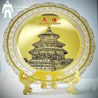 Buy cheap Sandblasting Or Etching Metal Gold Medal , Business Club Folk Art Award Medals from wholesalers