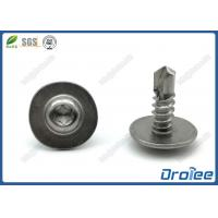 Buy cheap 18-8/410/316 Stainless Steel Torx Pan Washer Head Self Drilling Tek Screw from wholesalers