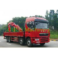 Best 5 ton truck mounted telescopic crane Knuckle Boom with customized color wholesale