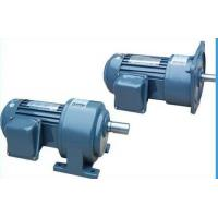 Single Phase Helical Gear Motor Reducer , High Speed Power Transmission Gearbox