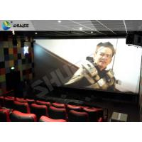 Best Professional 4DM Cinema Equipemnt With Electric Motion Chair , 4 Seats / Set wholesale