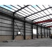 Best Anti Corrosion Office Or Workshop Steel Structure With Grey Color Paint wholesale