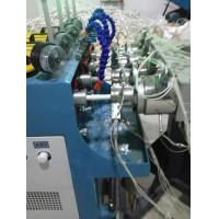 China Air Supply >0.5Mpa PVC Pipe Extrusion Line , PVC Pipe Making Machine Four Cavity Extrusion on sale