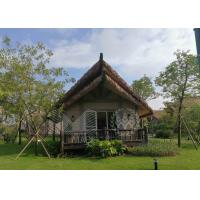 China Snow Resistance Prefabricated Wooden Houses Excellent Acoustic Insulation Ability on sale