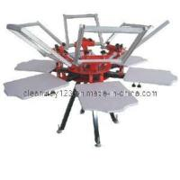 China 6 Color Carousel Screen Printing Machine for t shirt on sale
