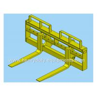 Best Quick coupler pallet fork of SDLG wheel loader with 1.45m length of the tines wholesale