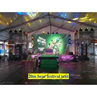 Best Aluminum Structure Flame Retardant Outdoor Event Tents / Clear Span Party Tent for Tuborg Festival or Wedding Event wholesale
