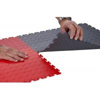 China Durable Interlocking Garage Floor Tiles PVC Flooring Mats Waterproof 7mm thickness on sale