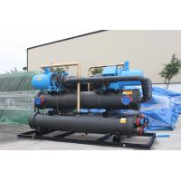 Residential Air Conditioning Heat Recovery Unit Screw Water Cooled Chiller 90 -170 Tons