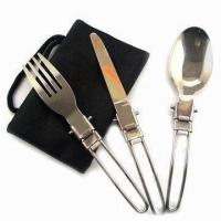 Best Cutlery Set for Picnic, Made of Stainless Steel wholesale