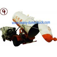 China Gold Prince 10m3 Vacuum Suction Truck , Diesel Fuel Type Sewage Tanker Truck on sale