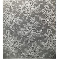 China Flower Design Pattern Nylon Corded Jacquard Lace Fabric By The Yard on sale