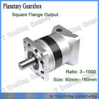 Best 60mm series planetary gearbox with square flange output  for stepper motor or servo motor wholesale