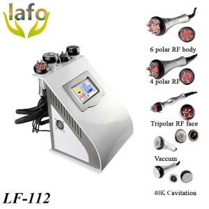 Best LF-112 5 IN 1Vacuum Cavitation Bipolar RF Skin Tightening Machine wholesale