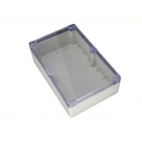 Best Sealed 263*182*60mm Ip65 Plastic Enclosures With Clear Lid wholesale