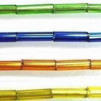 Best Glass Seed Jewelry Beads, Comes in Bugle Shape, with 2, 3, 4 and 5-inch Sizes wholesale