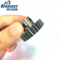 China Efficient Conveyor Chain Sprocket Custom Steel Spur Gear With Surface Treatment on sale