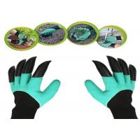 Best Durable Thorn Proof Gardening Gloves , Protective Gardening Gloves With Claws wholesale