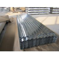 Best 0.15-1.5mm Thickness Galvanized Corrugated Roofing Sheet , ASTM A653 wholesale
