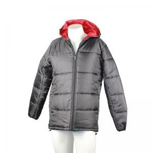 China 100% Polyester Taffeta Light Padded Jacket Water - Resistant Ultralight on sale