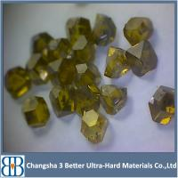 Synthetic industrial abrasive diamond grits