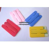 China Buy Wholesale Smart Wallet Mobile Card Holder,Silicone mobile phone card holder on sale