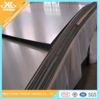 China ASTM B265 Cold Rolling Pure Titanium And Titanium Alloy Sheets on sale