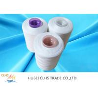 Best Optical White Semi Dull Polyester Yarn 52 / 2  Good Fastness Superior Durability wholesale