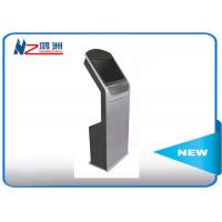 China Touch Screen Self Service Computer Kiosk , Hotel Lobby PC Stand LCD Digital Signal on sale