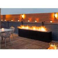 Best Amazon patio fire bowl outdoor BBQ burner stove double sided gas fireplace wholesale