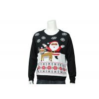 Best Home Christmas Features Patterns Knitted Funny Xmas Sweater In Customized Size wholesale