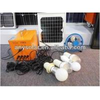 China Ideal For Lighting & Charging, 5W Durable Home Solar Energy System on sale