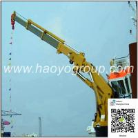 China Factory for Good Quality Knuckle Boom Marine Deck Boat Ship Crane for sale on sale