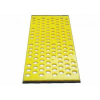 Best No Pegging Or Blinding Polyurethane Mining Screen Mesh Specially For Dewatering wholesale