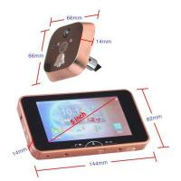 China 5 inch luxury digital door viewers with mms function PH-50 on sale