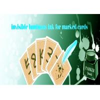 Best Safety Poker Magic Luminous Playing Cards Invisible Ink With Pen For Marked Cards wholesale