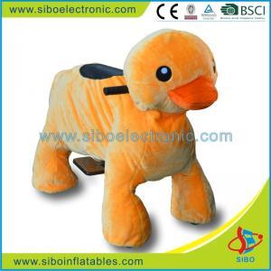 Best Electric Motorized Toy Bike Stuffed Plush Riding Toys Animal Rides wholesale