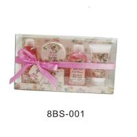 Best Pure Herbal Bubble Bath Gift Set With 100ml Scrub Jerry #8BS-001 wholesale