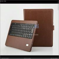 Best Detachable Bluetooth Keyboard Case with Leather Case for The New iPad--iPad3 wholesale