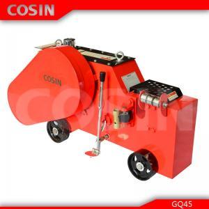 China flat bar cutter machine COSIN GQ45 construction metal cutting machinery on sale