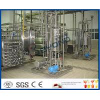 Best 1000 - 100000LPH Ultra High Temperature UHT Milk Processing Line With Aseptic Package wholesale