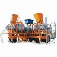 Best Asphalt Mixing Plant, Consists of Dryer Drum, Burner, Central Venting and Forced Mixer wholesale