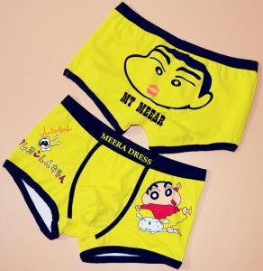 China Pure cotton cartoon men's underwear Men's cotton underwear, pants are big yards, on sale