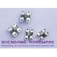 China Cabinet Style Hidden Door Hinges , Single Action Invisible Heavy Duty Stainless Steel Hinges on sale