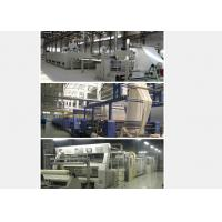 Buy cheap Open Width Fabric Stenter Machine Full Converter Controlled With Strong Rail from wholesalers